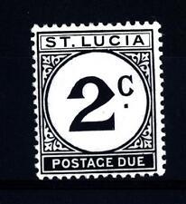ST. LUCIA - ISOLA DI SANTA LUCIA - 1949 - Segnatasse: numeri