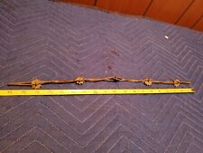 Antique Barb Wire~HODGE 10 point SPUR ROWEL on TWISTED LINES~