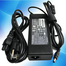 Genuine FOR  Toshiba ADP-75SB AB AC/DC Adapter+Power Cord Charger 19V 3.95A