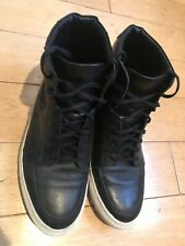 kurt geiger Leather Men Ankle Boots Bike Style Size 42 Excel Conditions