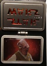 Disney 2015 Star Wars The Force Awakens ADMIRAL AKBAR LE Hinged Pin NEW ON CARD