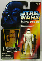 1996  Kenner Star Wars Stormtrooper - POTF 2 Red w/Holo New & Sealed Figure MOC