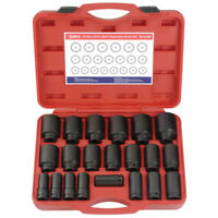 Genius 21 Piece 3/4in Drive Deep Impact Socket Set Metric 19 - 50mm DI-621M