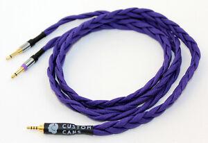 Ultra-low capacitance balanced cable for Beyerdynamic T1 / T5P (Pono/XLR/A&K)