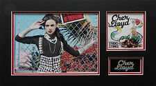 CHER LLOYD Signed 20x11 Photo Display SWAGGER JAGGER & OATH COA