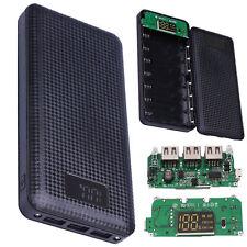 Mobile Power Bank Case DIY Kit Battery Charger Box 5V 2.1A 3USB 7X USB 18650