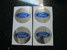 "4pc 2016 Ford Explorer Center Cap Stickers Taurus Wheel Hub Logo Decal 2.5"""