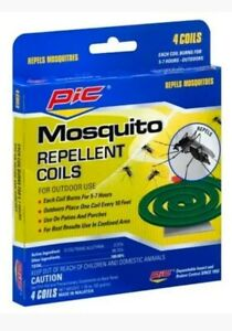 PIC Mosquito Repellent, Coils - 4 Each
