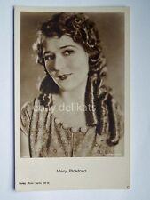 MARY PICKFORD attrice cinema muto silent film vecchia cartolina old postcard 2