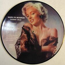 "Marilyn Monroe - Runnin' Wild - 12"" Picture Disc LP - 1985 - Denmark - NEW"