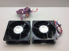 Refurbished PAPST Cooling Fan, TYP 4656Z, Set of 2 Fans