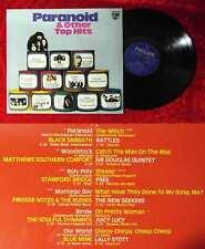 LP Paranoid & Other Top Hits (Philips 6300 021) D 1970 feat Black Sabbath