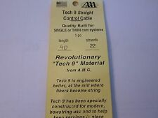 """NEW Allied Archery AMG Tech 9 Control Cable 40"""" 22 Strand AAA LOTS More Listed"""