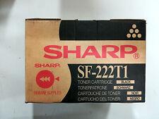 SHARP SF-222T1 TONER ORIGINALE NERO PER SHARP SF 2022, 2022N, 2027, 2027N