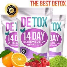 Conjunto de 14 días de desintoxicación (pérdida de peso Té, Té Detox, Adelgazante, Quema Grasa de té)