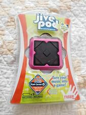 PINK Hasbro Tiger Elec JIVE POD-Turn Your Music Into a Game! Use with MP3 Player