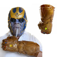 Thanos Infinity Gauntlet Glove Cup Container Infinity War Avengers Cosplay Gift
