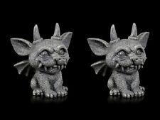 Gárgola Figuras - Pequeño Demonio 2er Set - Gothic Dragón Dämonenwächter