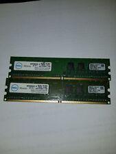 Dell SNPXG700CK2/2G 2GB 2 x 1GB DDR2 800 Non-ECC Unbuffered Desktop Memory Kit
