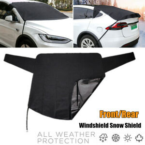 600D Car Front Rear Window Cover Windshield Snow Shield Sun Shade Dust Universal