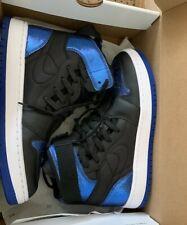 Nike AIR Jordan 1 NOVA XX UK 6.5 black and blue - used but only worn twice