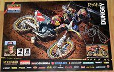 Ryan Dungey #1 Signed Makita Suzuki Poster
