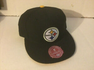PITTSBURGH STEELERS~MITCHELL & NESS  HAT/CAP FITTED SIZE 7