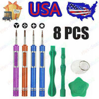 Repair Opening Pry Tools Screwdriver Kit Set Cell Phone iPhone X XR XS 8 7 6 LUS