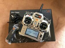 SPEKTRUM DX18 Transmitter & AR9020 Receiver. Boxed + Instructions