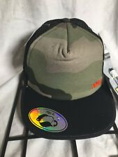 RFC Rally Flip Cap Camo Camouflage Cap Hat Trucker Snapback Mesh NWT