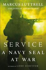 SERVICE: A NAVY SEAL AT WAR by Marcus Luttrell FREE SHIPPING paperback book