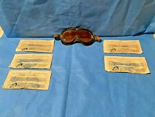 WW ll Polaroid A.A.F Type B-8 Flying Goggles and 5 Goggle Lenses