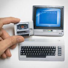 Commodore 64, 8-bit, C64, vintage computer, Hand made 2D MAGNET SET