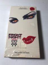 Fright Night Part II 2 - vampire horror sequel rare