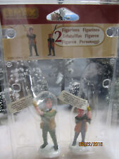"""TRAIN GARDEN VILLAGE HOUSE  """" FATHER & SON FISHING TIME """" + DEPT 56/LEMAX info"""