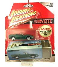 Johnny Lightning 1998 98 Chevrolet Chevy Corvette Convertible +Tin Die Cast 1/64