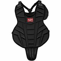 """NEW Rawlings Junior 14"""" Catcher's Chest Protector Black LLBP2"""
