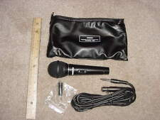 Microphone Die-Cast Unidirectional with Zinc Alloy Case