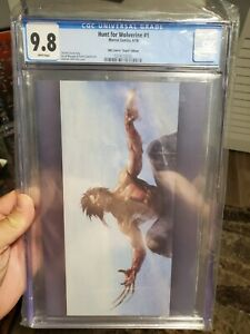 Hunt for Wolverine 1 (2018) CGC 9.8 KRS Comics Dell'Otto Virgin Variant Edition