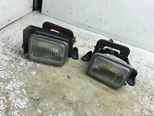 JDM TOYOTA SUPRA JZA70 GA70 ORIGINAL FOG LIGHTS SET WITH BRACKETS OEM