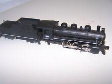 Rivarossi AHM 0-6-0 & Tender XLNT COND steam locomotive HO undecorated