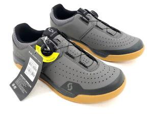Scott Sport Volt BOA Flat Platform Cycling Shoes Gray EU 45 / US 11