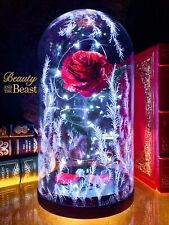 Beauty and the Beast Metal Rose for Engagement Proposal, Completely Handmade