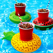 Summer Swimming Pool  Inflatable Floats Cup Holder Creat Drink Beverage Holder