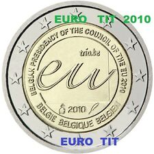 2 €    BELGIQUE   COMMEMORATIVE     2010    1   x   PIECE          disponible