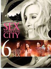SEX AND THE CITY -  Integrale de la Saison 6 -  Coffret Digipack 5 dvd