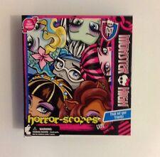 New Mattel Monster High Horror Scopes Game