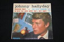 Johnny Hallyday   EP 45T   Madison Twist + 3