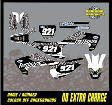 Rebound mx graphics kit to fit husqvarna TC 50 65 all years and cc