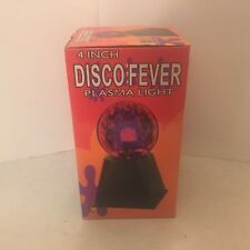 4 Inch Disco Fever - Plasma Light - Glass Globe - Creative Motion Industries